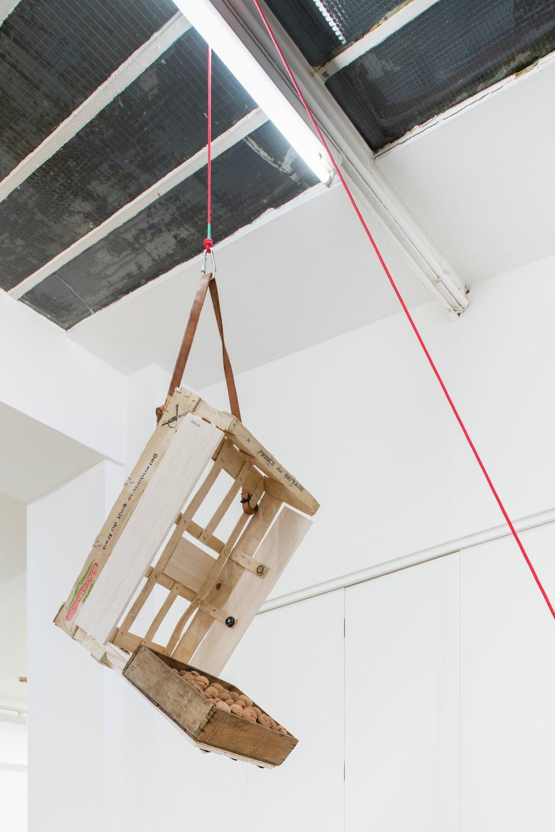 Abraham Cruzvillegas, Untitled portable sculpture (La Señora de Las Nueces) 9, 2020-2021