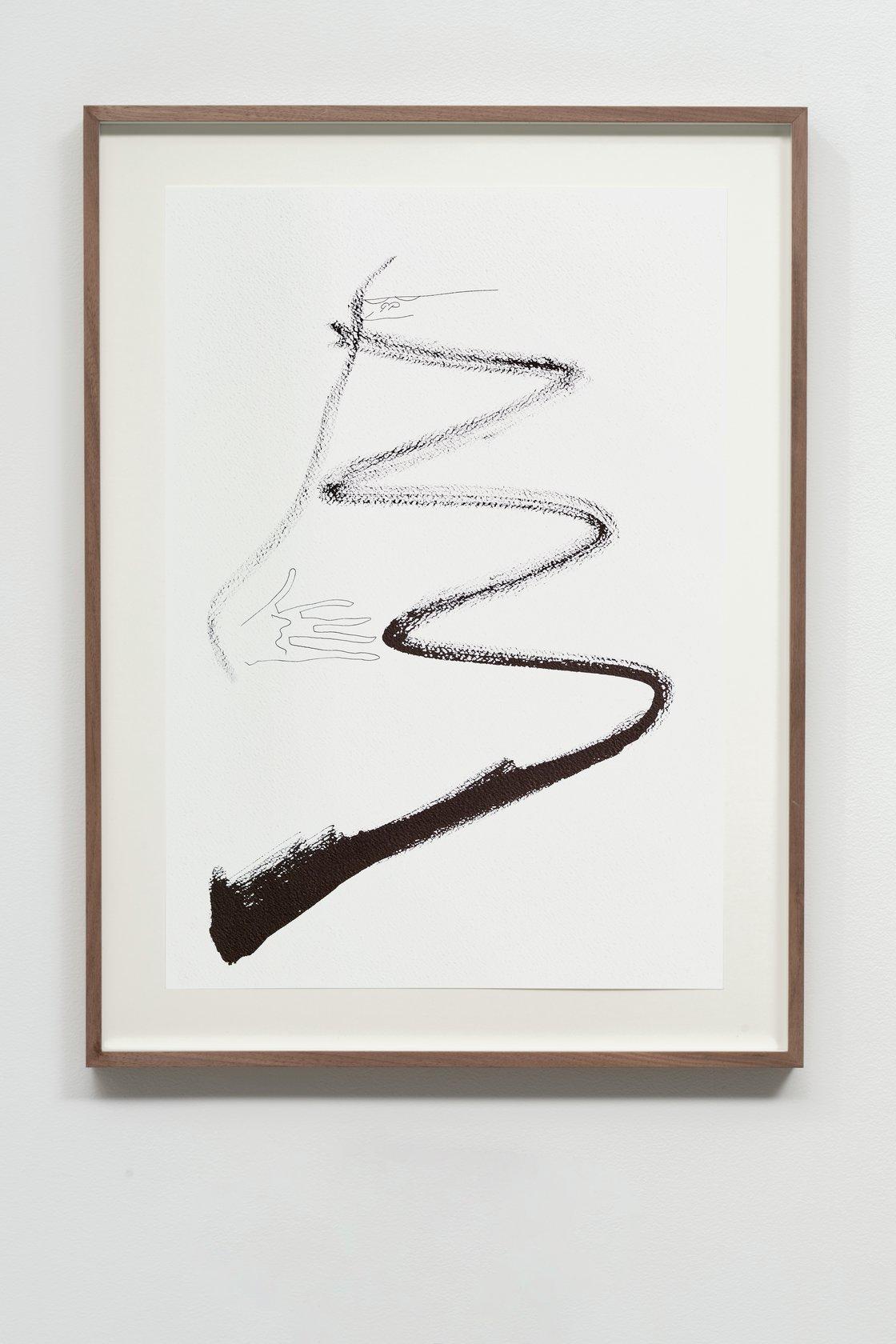 Abraham Cruzvillegas, Autoportrait avec pouce opposable L, 2020