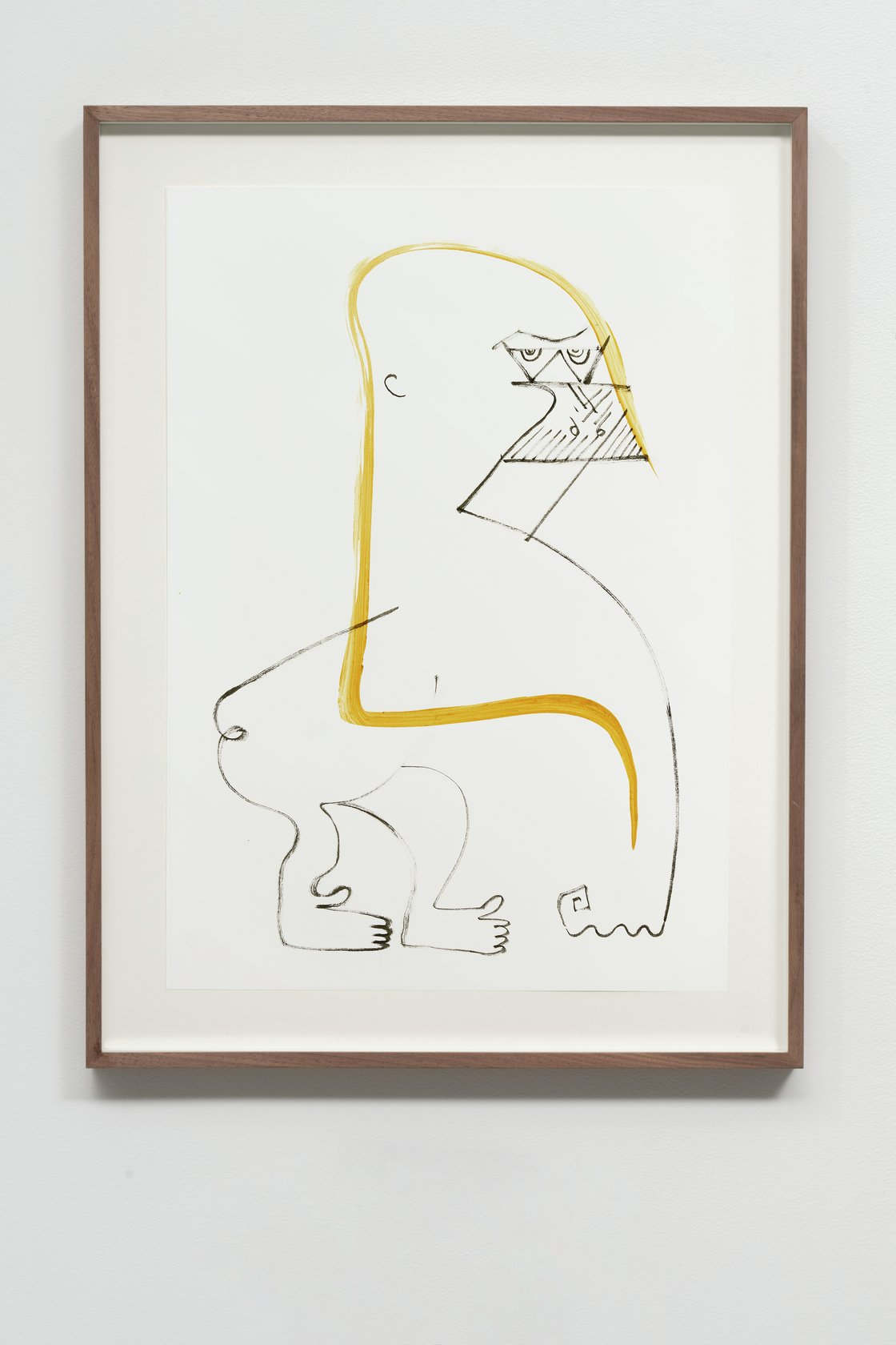 Abraham Cruzvillegas, Autoportrait avec pouce opposable XXXVIII, 2020