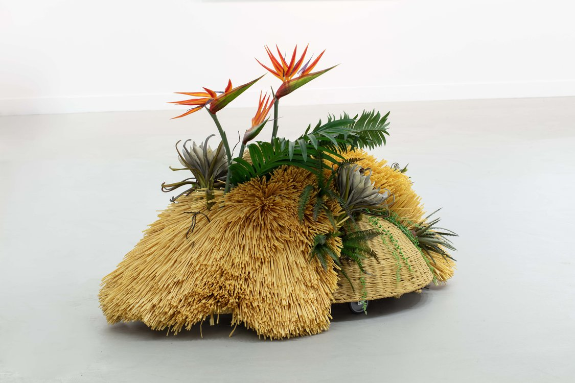 Haegue Yang, The Intermediate – Ikebana Alienage , 2016