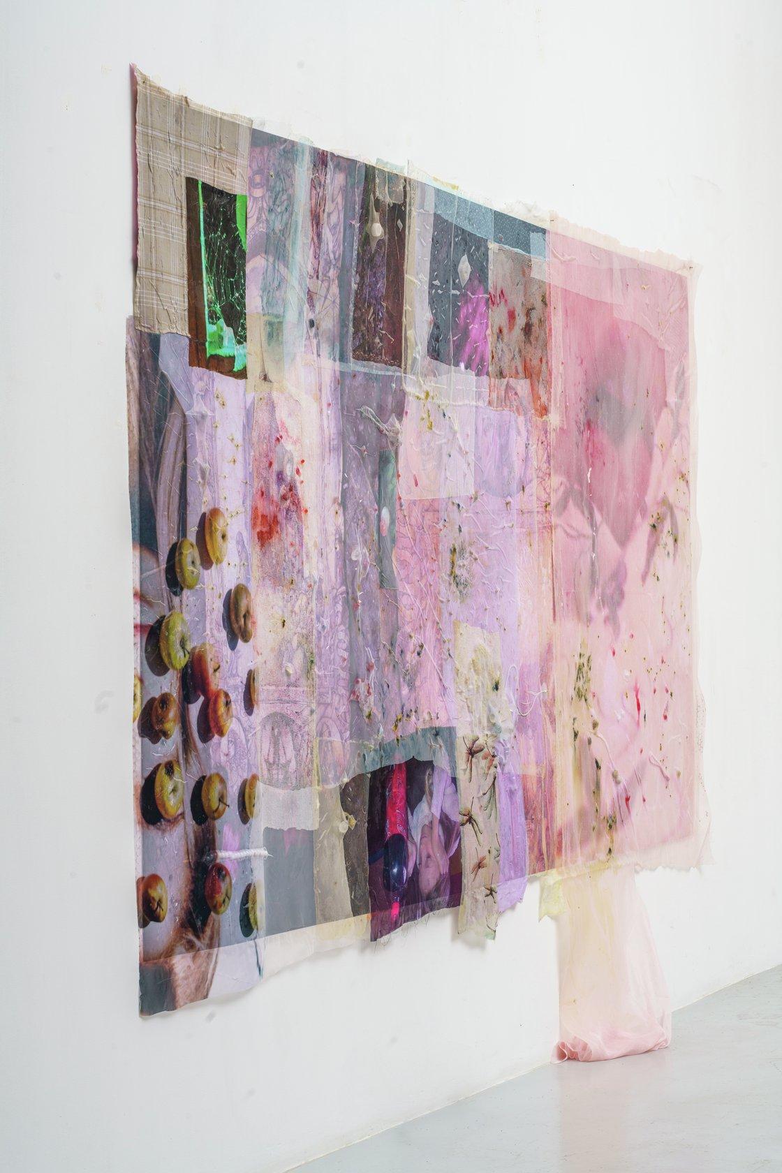 Mimosa Echard, Chakra crachat (1), 2019