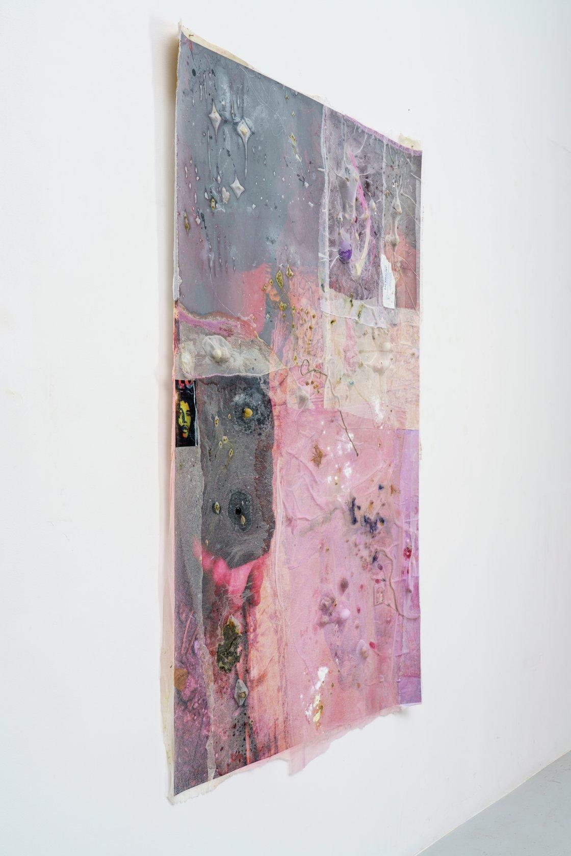 Mimosa Echard, Chakra crachat (3), 2019