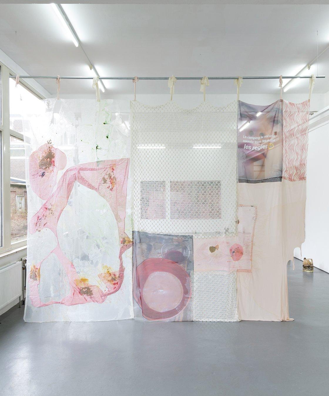 Mimosa Echard, Le camping, le sol dur, la nausée tous les matins, les règles, 2020