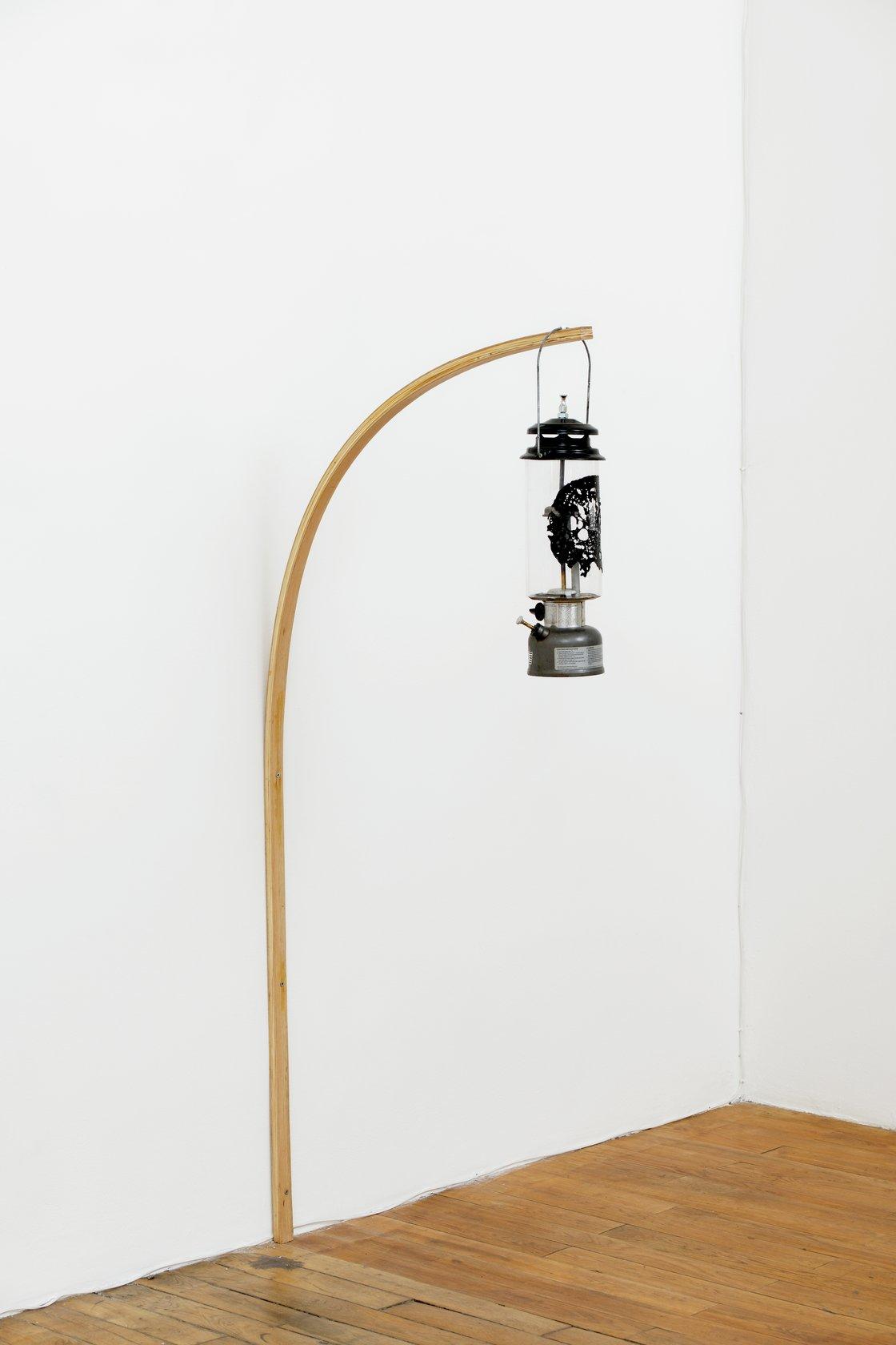 Oscar Tuazon, Oil Lamp, 2021