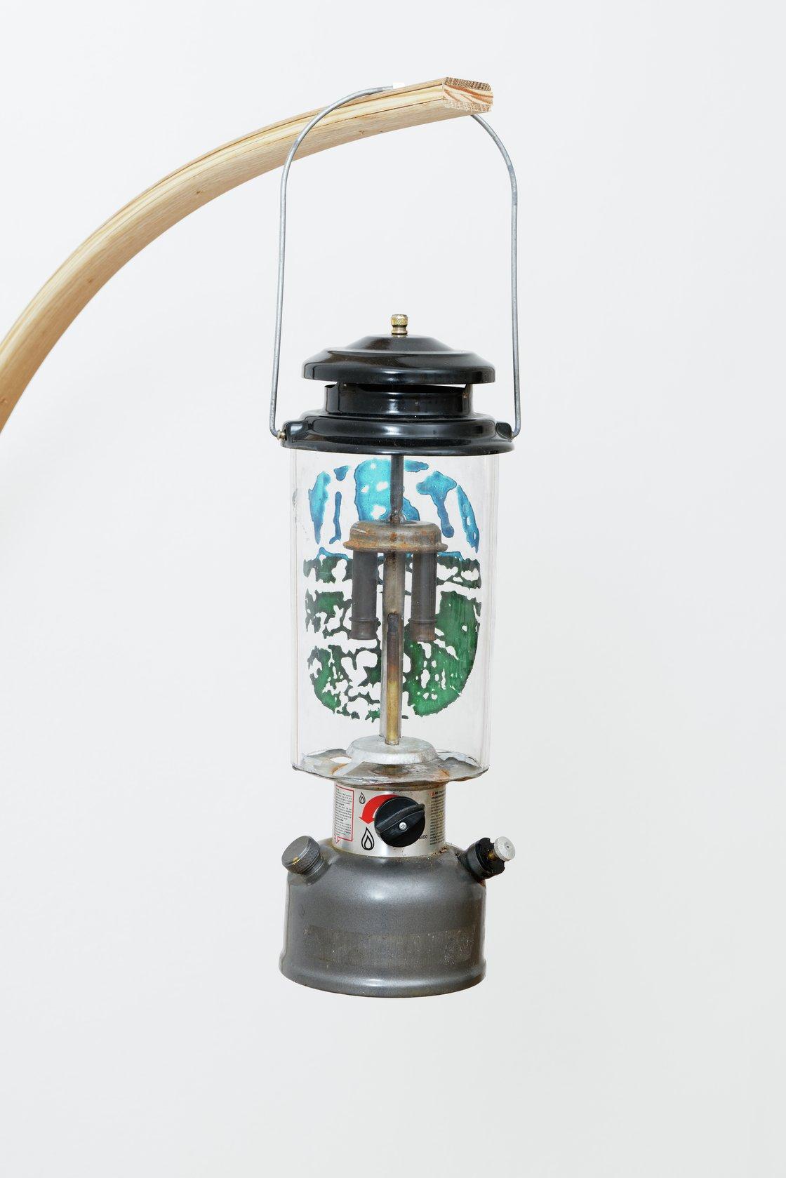 Oscar Tuazon, Gas Lamp, 2021