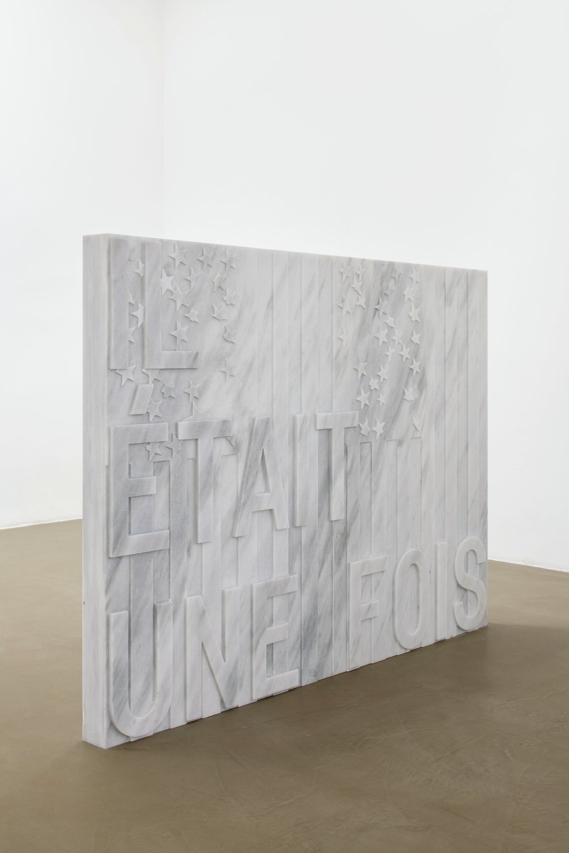 Rirkrit Tiravanija, untitled 2020 (il était une fois) (two flags, 1973-77), 2020