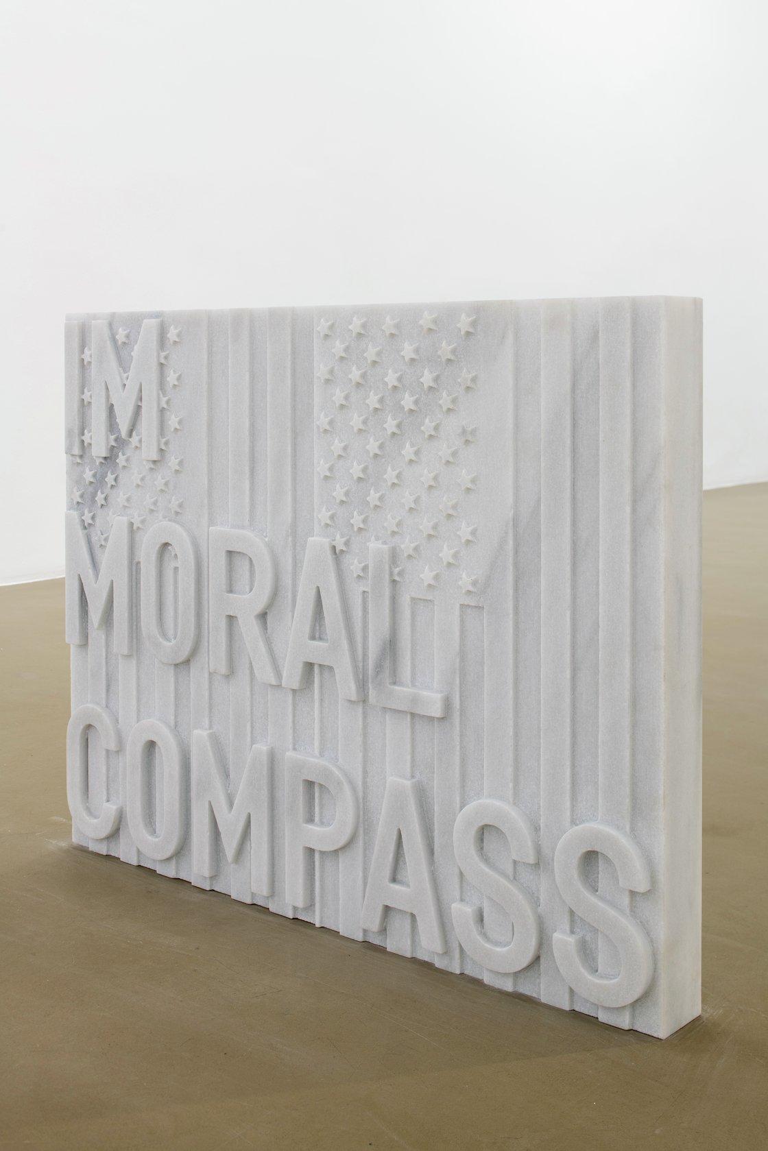 Rirkrit Tiravanija, untitled 2020 (im moral compass) (flags, 1987), 2020