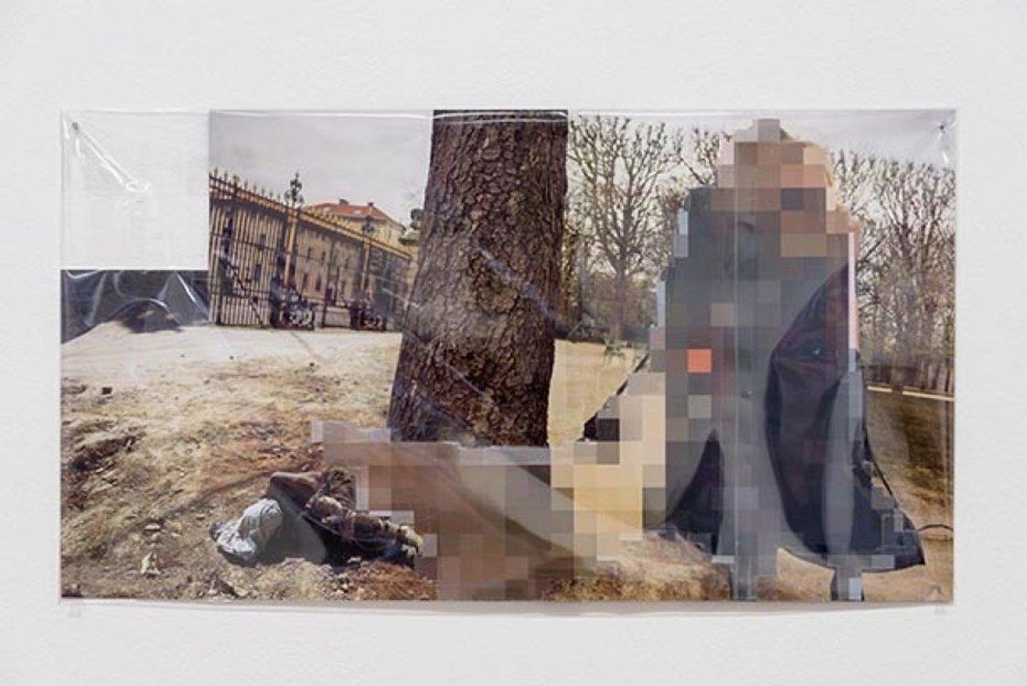 """Pixel-Collage"", Kunsthal Aarhus, Denmark"