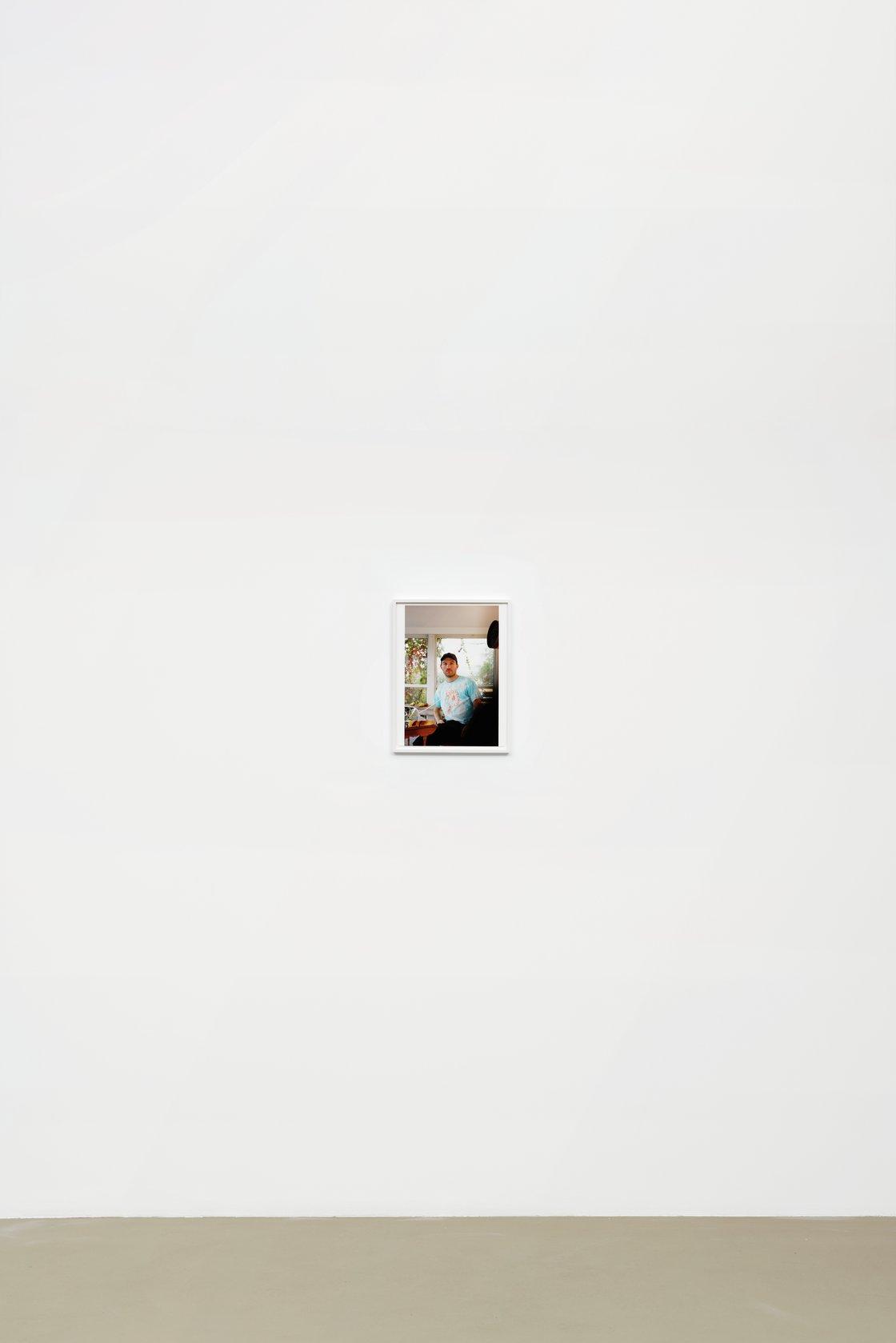 Wolfgang Tillmans, Dan in glass house, 2020