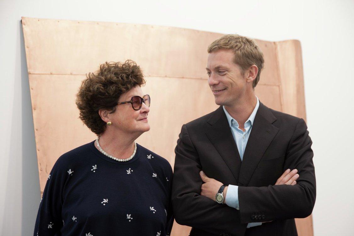 Chantal Crousel et Niklas Svennung