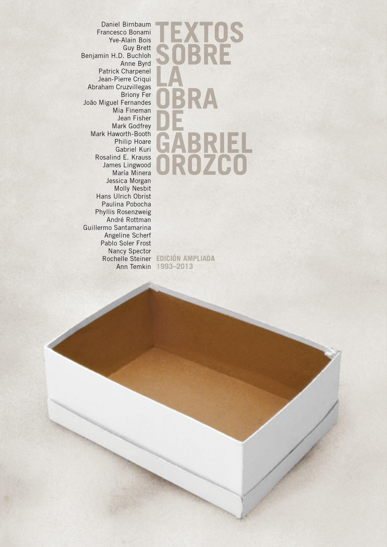 Textos sobre la obra de Gabriel Orozco