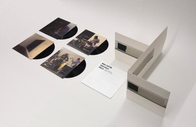 Wade Guyton Kunsthalle Zurich (4 vinyl LP) Blondes, James Campbell & I.U.D
