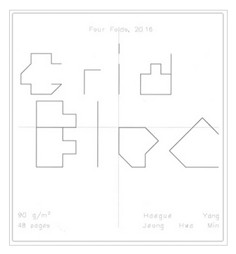 Grid Bloc Square – Four Folds