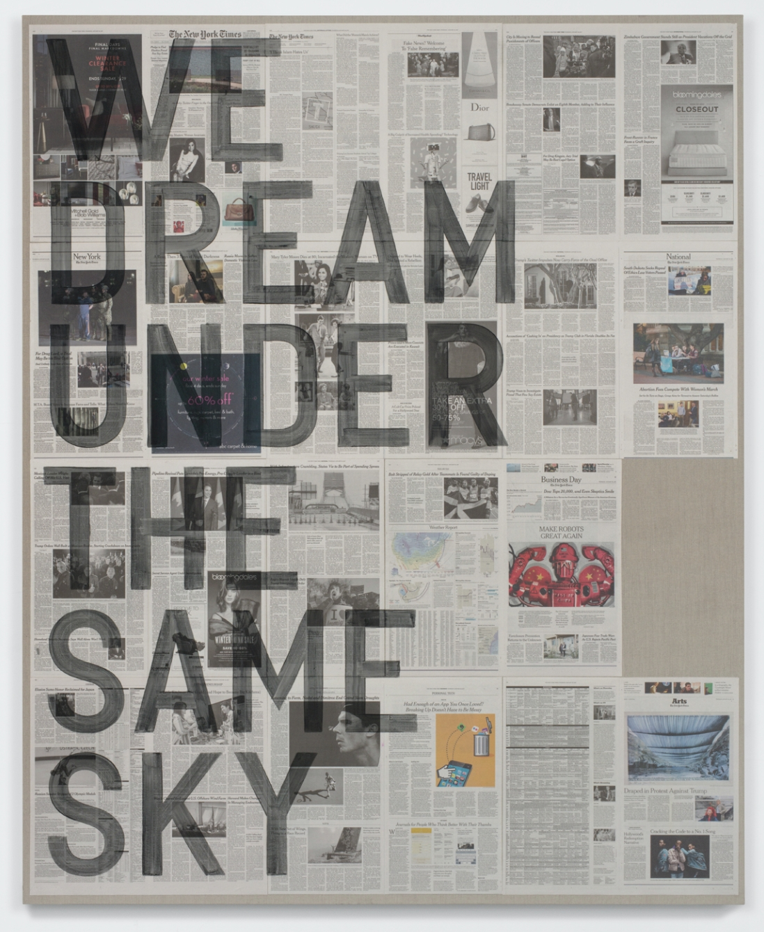 WE DREAM UNDER THE SAME SKY
