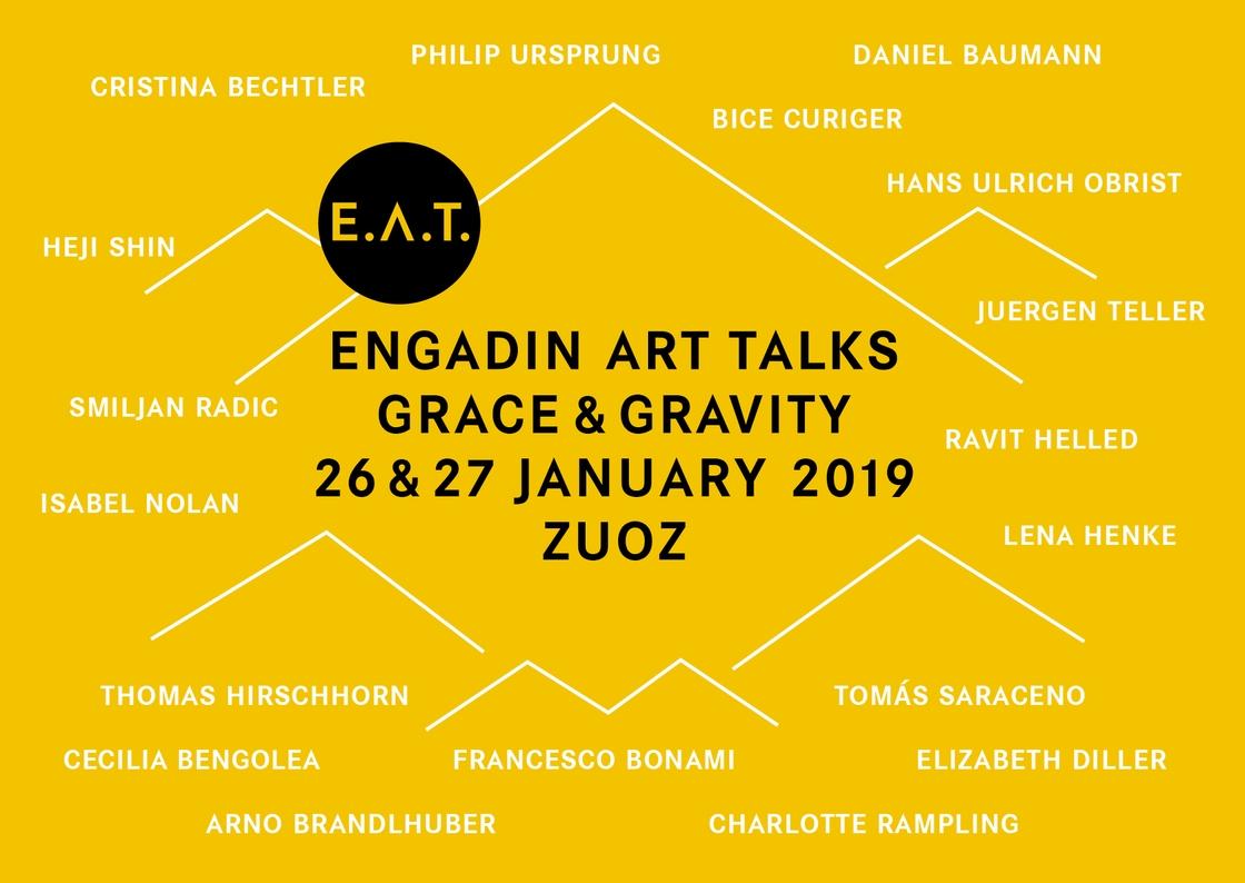 Engadin Art Talks: Grace and Gravity —
